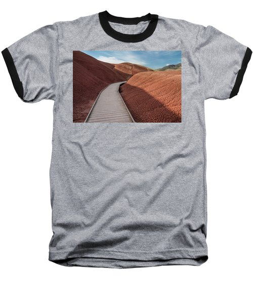 Pathway Through The Reds Baseball T-Shirt by Greg Nyquist