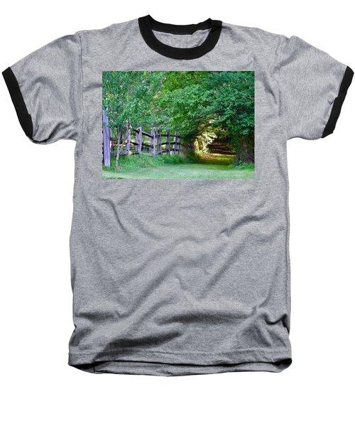 Pathway To A Sunny Summer Morning  Baseball T-Shirt