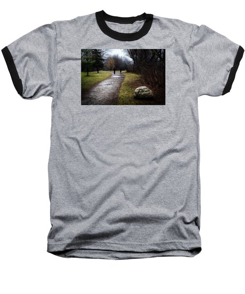 Pathway To Nowhere Baseball T-Shirt by Celso Bressan