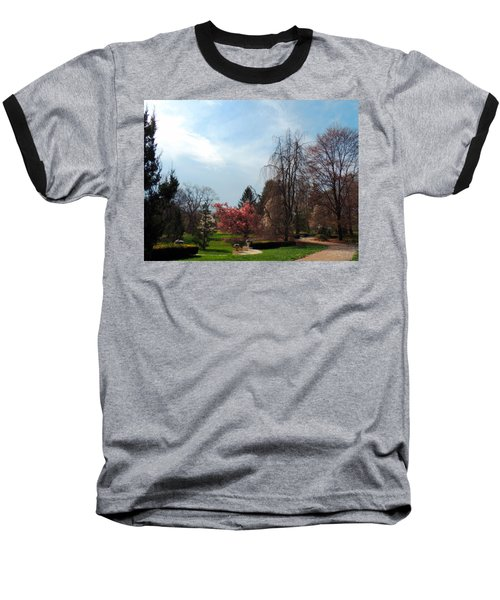 Baseball T-Shirt featuring the photograph Pathway To Spring by Teresa Schomig