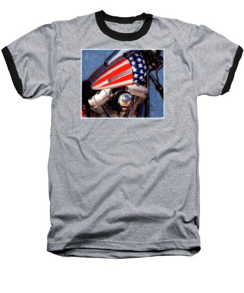 Live To Ride Baseball T-Shirt