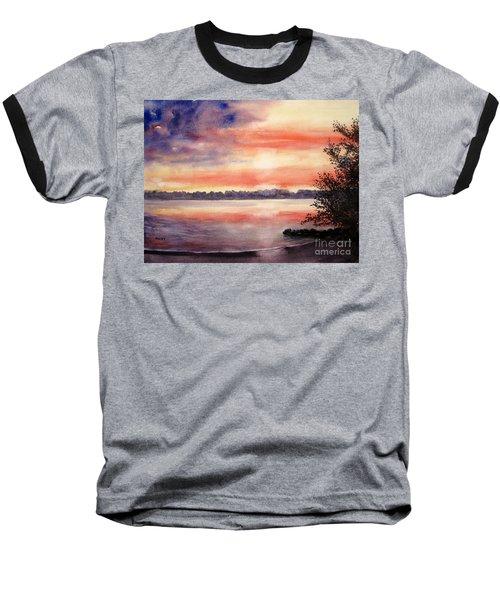 Patriotic Windjammer Sky Baseball T-Shirt