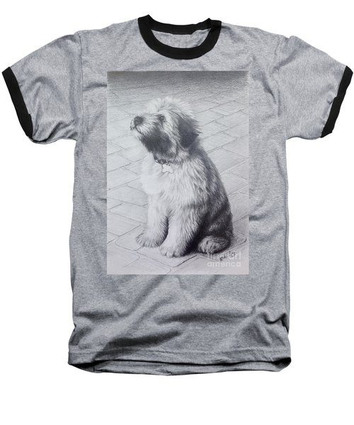 Patsy's Puppy Baseball T-Shirt