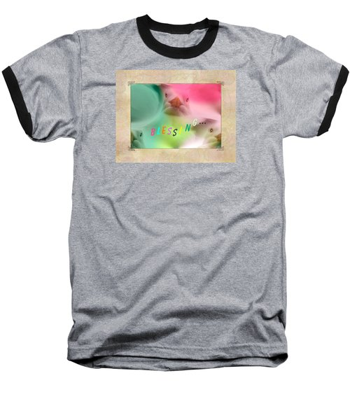 Pattern 310 _ Blessing... Baseball T-Shirt
