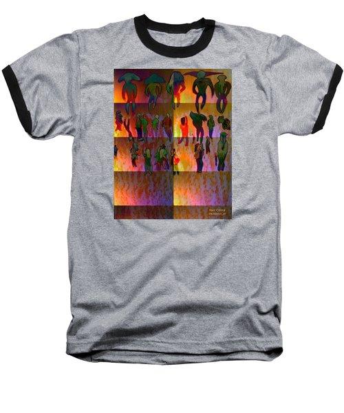 Pattern 324 _ People Baseball T-Shirt
