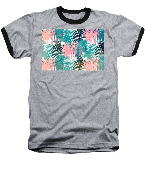 Pattern Jungle Baseball T-Shirt