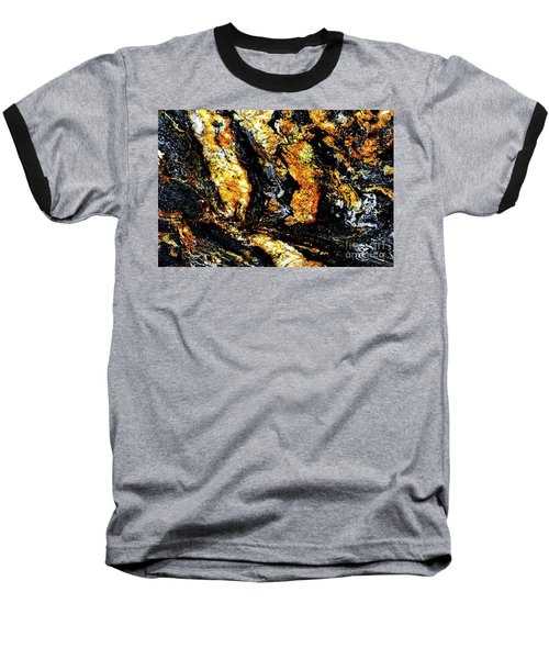 Baseball T-Shirt featuring the photograph Patterns In Stone - 185 by Paul W Faust - Impressions of Light