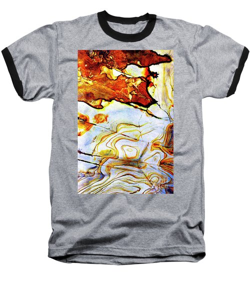 Baseball T-Shirt featuring the photograph Patterns In Stone - 201 by Paul W Faust - Impressions of Light