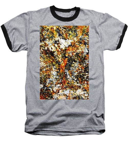 Baseball T-Shirt featuring the photograph Patterns In Stone - 207 by Paul W Faust - Impressions of Light