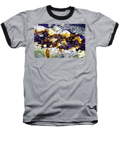 Baseball T-Shirt featuring the photograph Patterns In Stone - 212 by Paul W Faust - Impressions of Light