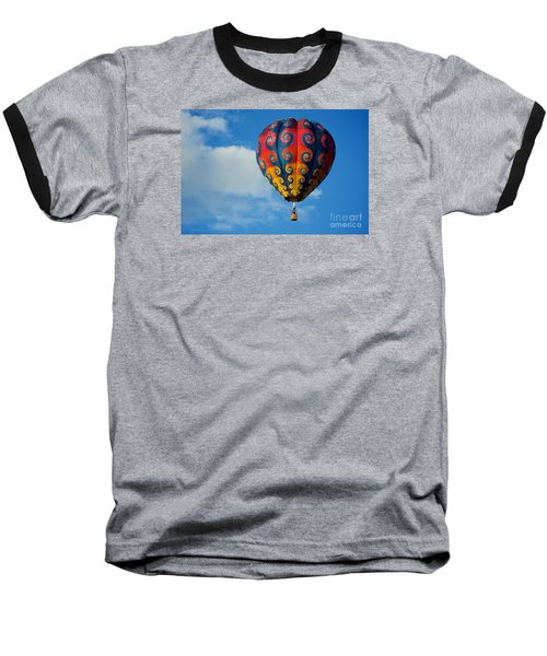 Patterns In The Sky Baseball T-Shirt