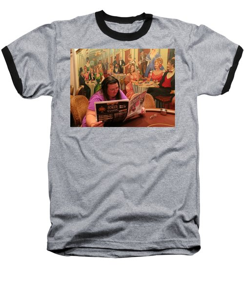 Pattie Poker Baseball T-Shirt