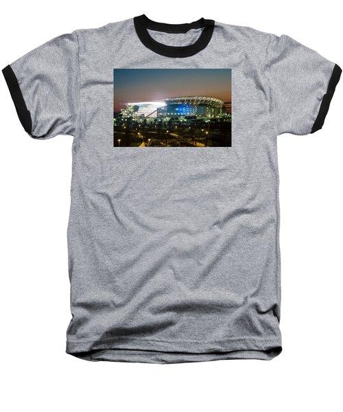 Paul Brown Stadium Baseball T-Shirt by Scott Meyer