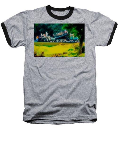 Paving Crew 2 Baseball T-Shirt