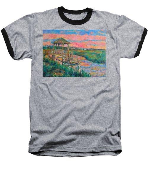 Pawleys Island Atmosphere Stage Two Baseball T-Shirt