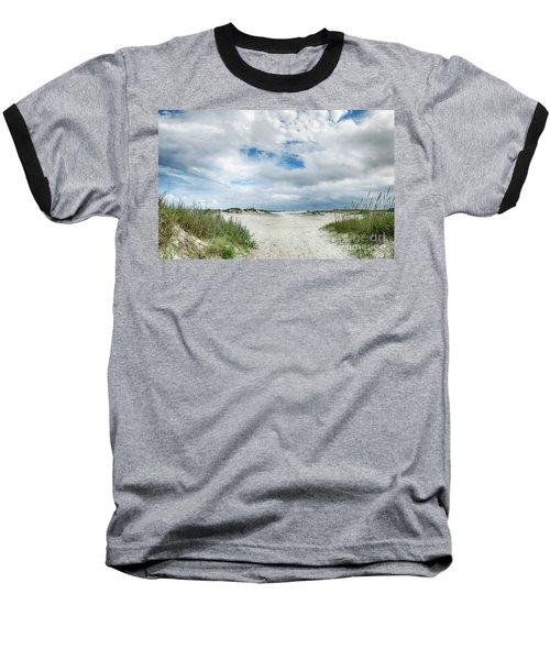 Pawleys Island  Baseball T-Shirt by Kathy Baccari