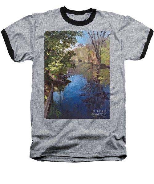 Pawtucket Canal Baseball T-Shirt