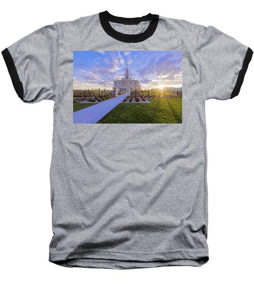 Payson Temple I Baseball T-Shirt