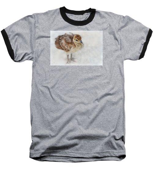 Pea Chick Cuteness Baseball T-Shirt