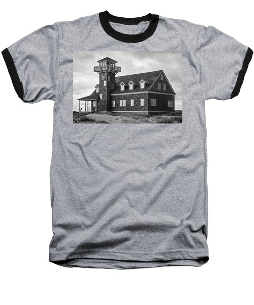 Baseball T-Shirt featuring the photograph Pea Island Station 2 by Alan Raasch