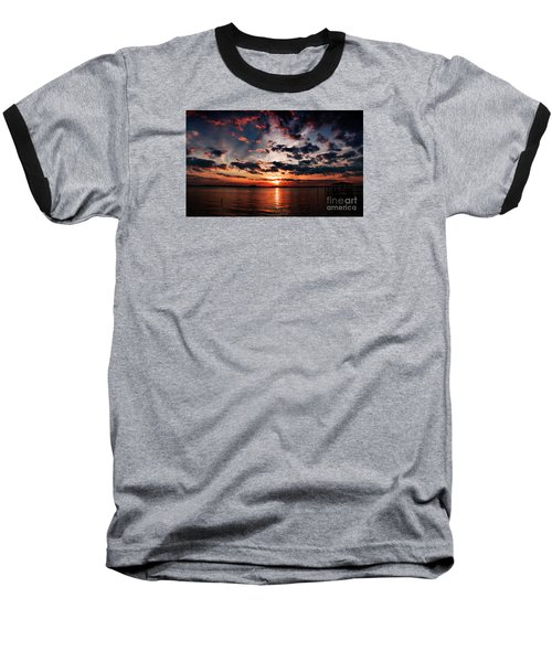 Peace Along The River Baseball T-Shirt
