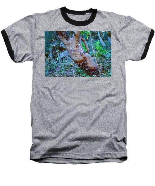 Peace Be Still Baseball T-Shirt