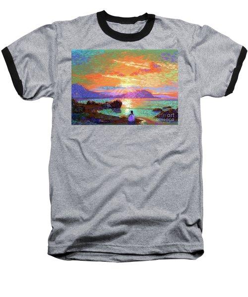Peace Be Still Meditation Baseball T-Shirt