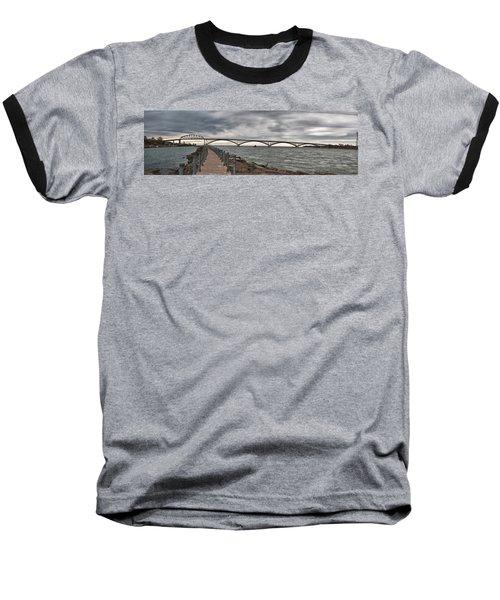 Peace Bridge Baseball T-Shirt