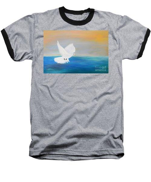 Peace Descending Baseball T-Shirt