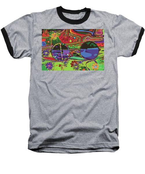 Peace Art Baseball T-Shirt