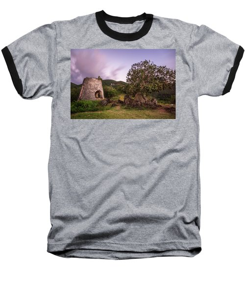 Baseball T-Shirt featuring the photograph Peace Hill Ruins by Adam Romanowicz