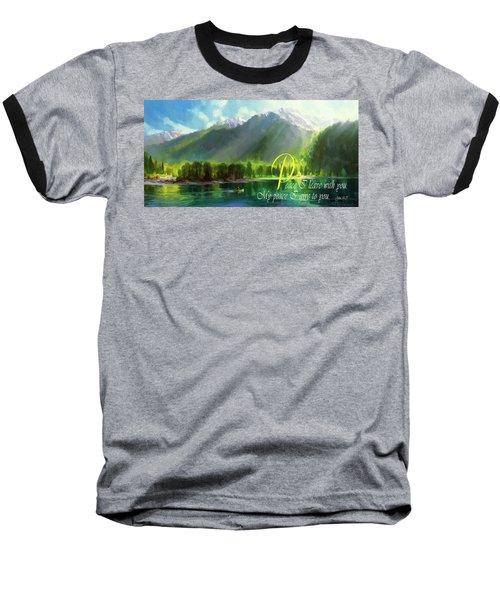 Peace I Give You Baseball T-Shirt