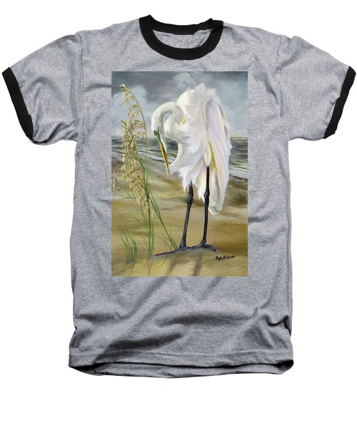 Peace In The Midst Of The Storm Baseball T-Shirt by Phyllis Beiser