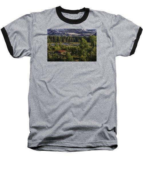 Peace In The Valley Baseball T-Shirt by Elizabeth Eldridge