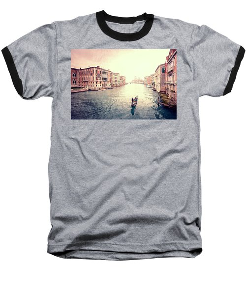 Peace In Venice Baseball T-Shirt