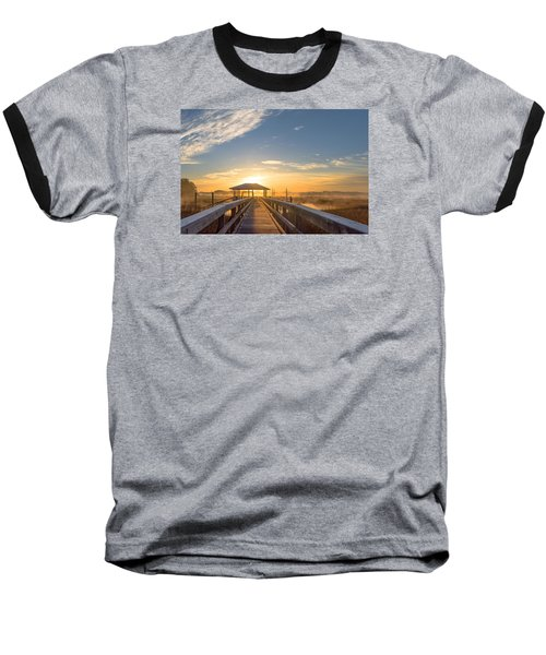 Baseball T-Shirt featuring the photograph Peace by Margaret Palmer
