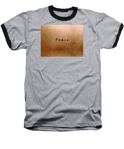 Peace Baseball T-Shirt