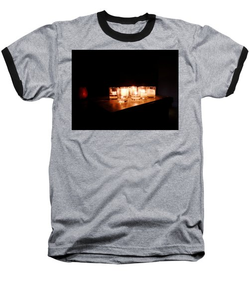 Peace On A Stormy Night Baseball T-Shirt