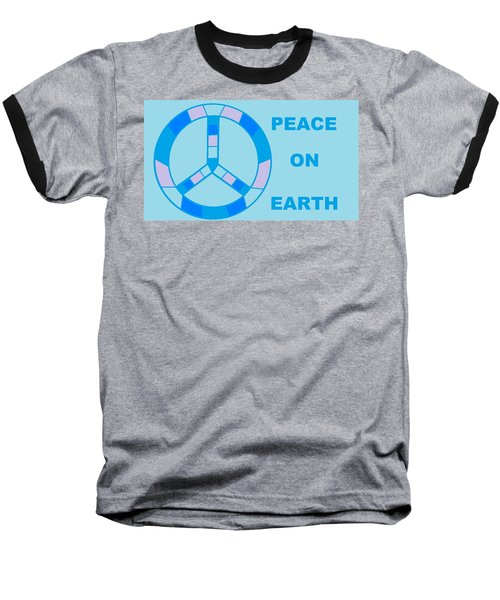 Peace On Earth 3 Baseball T-Shirt