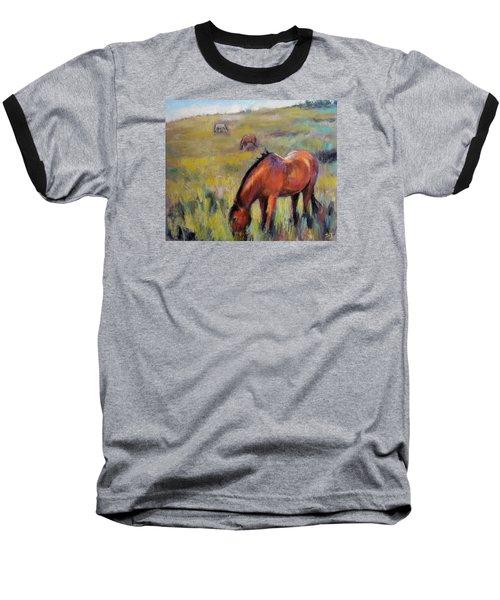 Peace On The Mountain Baseball T-Shirt