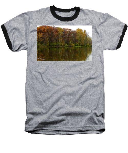 Peace Reflected Baseball T-Shirt