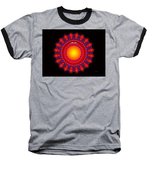 Baseball T-Shirt featuring the digital art Peace by Robert Orinski