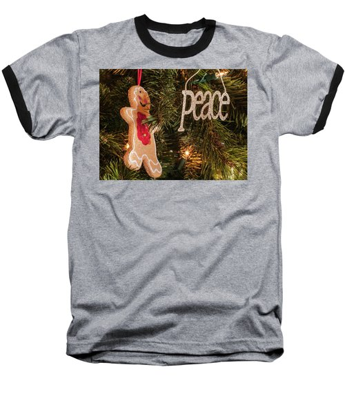 Peace Baseball T-Shirt