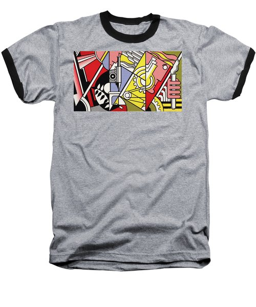 Peace Through Chemistry I - Roy Lichtenstein Baseball T-Shirt