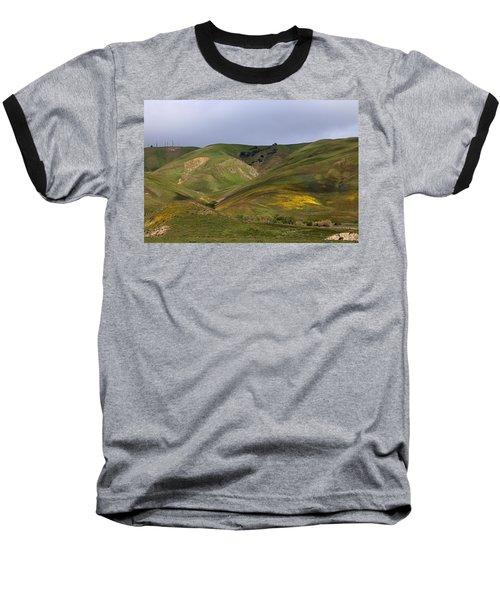 Peace Valley Baseball T-Shirt by Viktor Savchenko