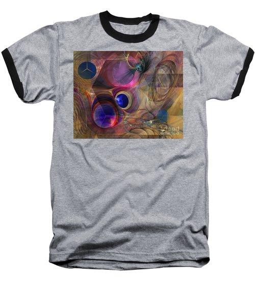 Peace Will Come Baseball T-Shirt by John Robert Beck