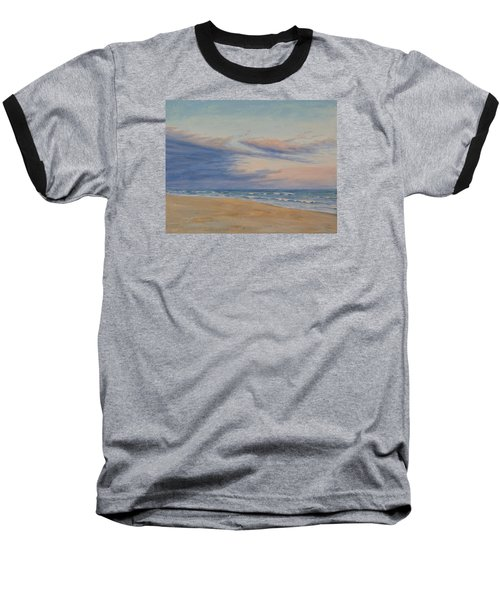 Baseball T-Shirt featuring the painting Peaceful by Joe Bergholm