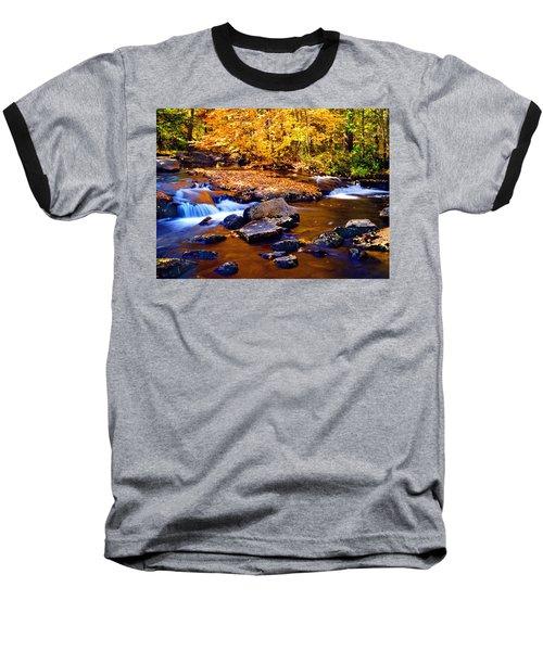 Peaceful Autumn Afternoon  Baseball T-Shirt