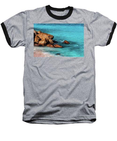 Peaceful Beach Baseball T-Shirt