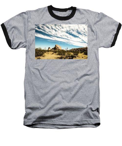 Peaceful Boulder Baseball T-Shirt by Amyn Nasser